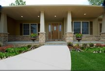 Custom Built Homes: The Montgomery Family / If you're interested in building the Montgomery floorplan for your new custom home, visit http://waynehomes.com/plan/montgomery! / by Wayne Homes