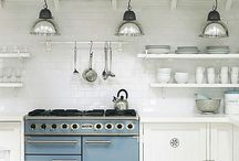 Kitchens too pretty to cook in / If I ever get to remodel or build again.... / by Gena Silver Nest Designs