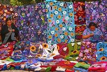 Artesanía mexicana  /  Mexican handcrafts / Solo una pequeña muestra de la diversidad de artesanías que se hacen en México. / by Yazmin Zamorategui