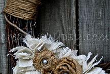 wreaths / by Ashley Gee