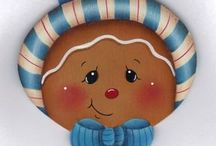 gingerbread / by Pegs Clay Ground