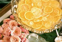 Party Ideas--Cocktails and Punch / by Martheil Mauthe-Clanton
