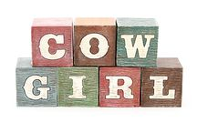 cow girl ideas / by Debbie Tocci