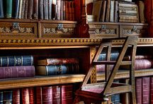 Book shelves / by Crystal Skelton