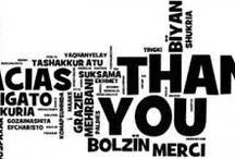 Appreciation / All things for which to be thankful. / by Notary @ Your Door, Co.