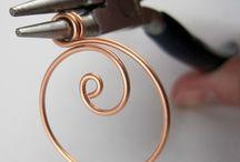 Wire Wraps - Tuts - Earrings / by Sherry Fox