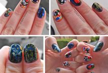 My Nail Art (10 Blank Canvases) / my nail art from my blog 10blankcanvases.blogspot.com (also can be found at 10blankcanvases.tumblr.com) / by Jenny's Nail Art