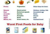 Baby food / by Lindsay Bryson