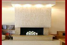 Fireplaces / by Amy Jabara