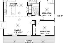 Tiny Home Floor Plans / by House Plans by The House Designers