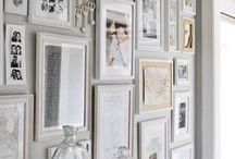 Gallery Wall Ideas / by Shavonda Gardner {AHomeFullOfColor}