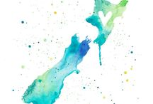 Aotearoa, New Zealand / Where I Grew Up.... / by Whai Elizabeth