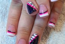 Crazy nail art :D / by Whitney Hall
