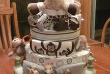Diaper Cake DIY / by Shasta Lantz