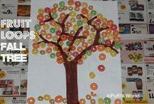 Fruit Loop Crafts / by Alyssa Brown