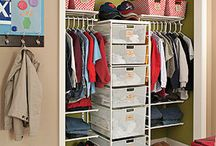 Organizing: Closets / Organization and setup ideas of clothes, linen, and other closets. / by Kale Rovner