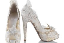Wedding - Shoes for the Bride and Bridesmaids. / Shoe Ideas for my bridal shoes and for my Bridesmaids. / by Julia Snyder