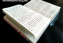 journals / by Pauline Ely
