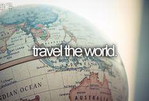 TRAVEL THE WORLD! / by Lori Sedwick