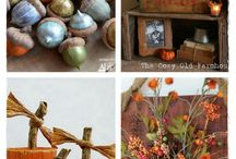 Fall Decorating Inspirations / A fun board with lot's of creative, fun, and fabulous fall decorations. Get inspired for your fall decorating. / by Diane Smith