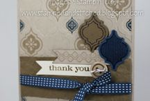 Thank you cards / by Christine Tuff