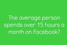 Social Media Facts / by Laurel Robbins: Reach Social Media & Monkeys & Mountains