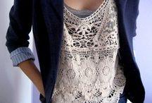 VESTIDO DE RENDA E MAIS... / Se renda às rendas.... / by Sônia Maria - blog Falando de Crochet