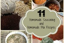 Homemade seasoning and mixes / by Judith Beavis
