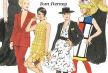 Paper Dolls: 60's - 80's Fashion  / by Cheryl Darr