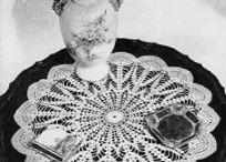 Crochet -- Doilies / by Mernie .