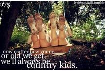 Country kids / by Jessann Lightning River
