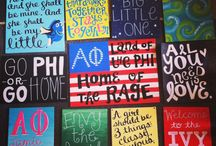 Welcome to the Ivy League ΑΦ / by Hailey Sellers