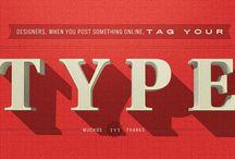 typography / by Gianluca Arbezzano