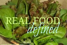 Real food made simple / A beginner's guide to eating better / by Keeper of the Home