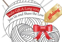 2014 Ravelry Gift-A-Long: Hats & Head / 2014 Ravelry Gift-A-Long: HATS & HEAD: Your favorite Indie Designers have banded together to bring you a Gift-A-Long of epic proportions. Join one of our KAL/CALs Nov 13-Dec 31 for crafty fun and a chance to win prizes. On your mark…get set…GIFT!! / by Indie Design Gift-A-Long