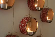 REPURPOSED TIN CANS / by Velma Floyd