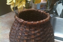 Baskets By Holly Jacobs / I started basketweaving in '10. Some examples / by Holly Jacobs