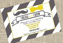 Dear god it's Twins / Ideas for baby shower  / by Mindie Stratton