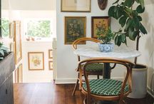 Art & Small Spaces / Well curated art can make a small space totally sing!  / by Emily Jeffords