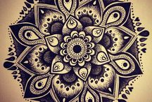 < INTERESTING> Mandala/Zentangle/DesignOrnaments / by Melissa Martin