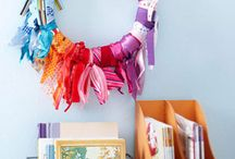 Ribbon Crafts / Things to make with ribbons.  / by Merrily Me