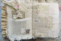 Fabric & Journals / by Willowing Arts Ltd