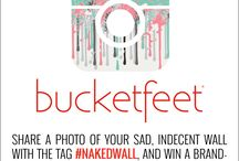 Art Prints / Our new line of BucketFeet designs for your walls.  / by BucketFeet