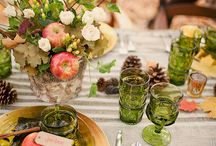 Cabin tablesettings / by Carole Ford