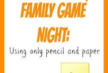 Family night/kids crafts  / by Megan Brinker
