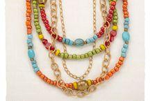 Got a neck? Hang something pretty on it! / by Jenna Randall