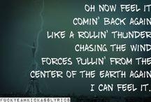 awesome lyrics / by Jennifer Worsham