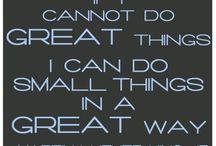 Quotes that inspire / by University of Wyoming: SLCE Office
