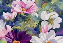 watercolors / by Georgete Keszler Chait