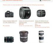 My camera/photo stuff / by Jme